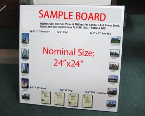 Sample Board -6/9mm MDF Board