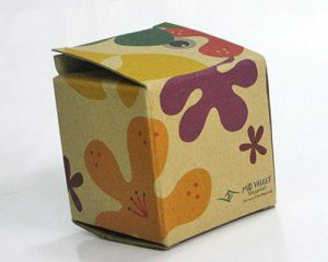 Decorative Box - Kraft Paper
